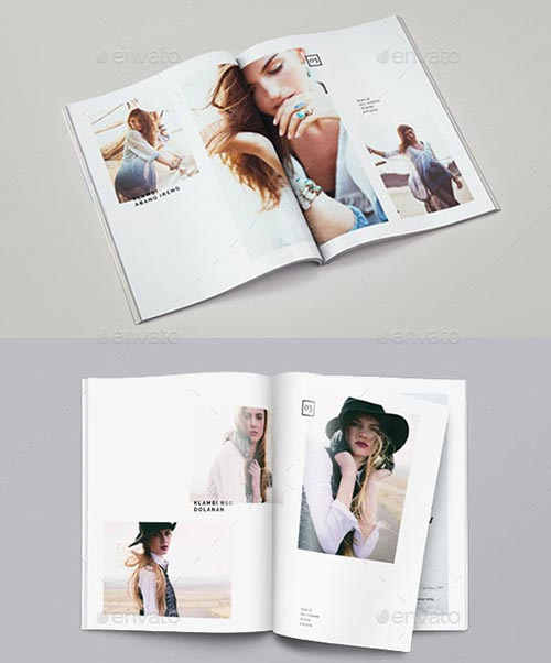 PSD & InDesign Brochure Templates