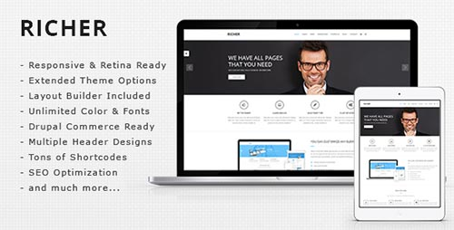 20+ Top Rated Premium Drupal Themes