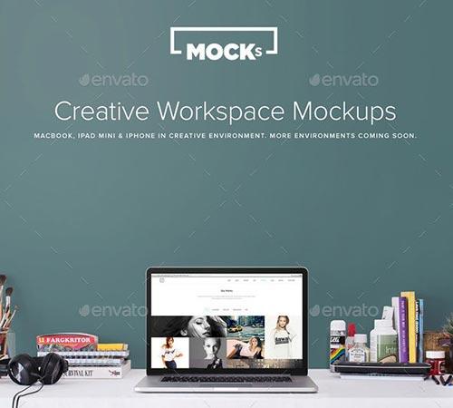 50 Premium PSD Mock-Up Templates