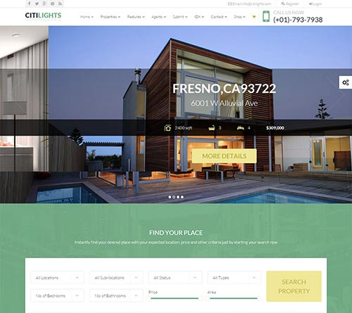 19 Beautiful Real Estate WordPress Themes