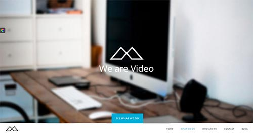 20+ Portfolio WordPress Themes with Video Backgrounds