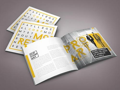 Square Brochure Template Designs