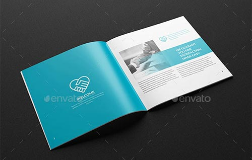 20+ Creative Square Brochure Template Designs