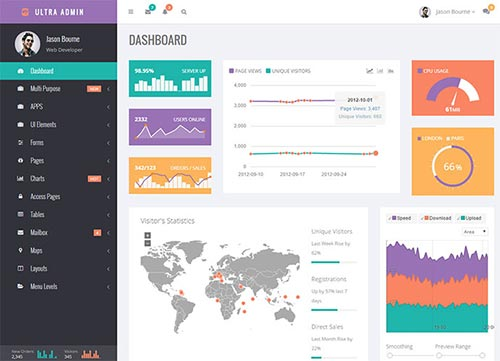 Creative Admin UI Dashboard Templates