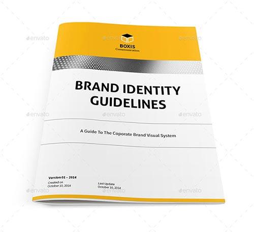 25 Inspiring Brand Guideline Templates