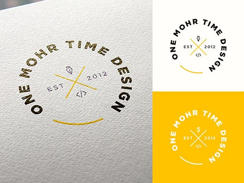 Typographic Logo Badge Designs