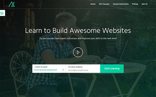 20 Useful Video Landing Page Templates