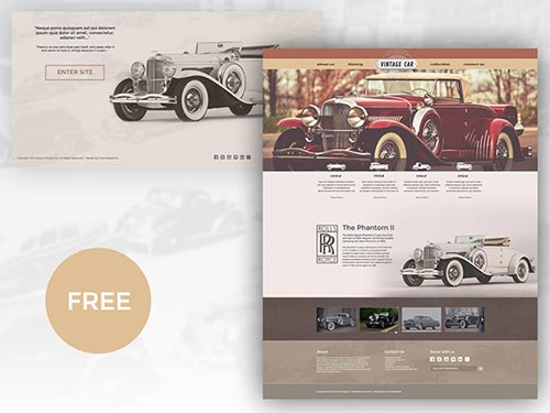 19 Creative Web Design Concepts in PSD Format