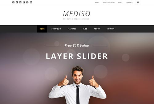 30 Best Business WordPress Themes for Online Services