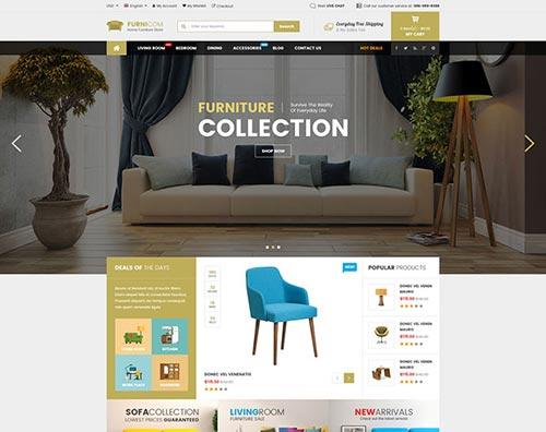 Furniture & Interior eCommerce WordPress Themes