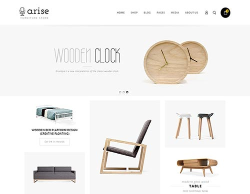 Furniture & Interior eCommerce WordPress Themes