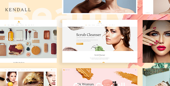 Kendall - A Stylish Theme for Spa, Hair & Beauty Salons - Health & Beauty Retail