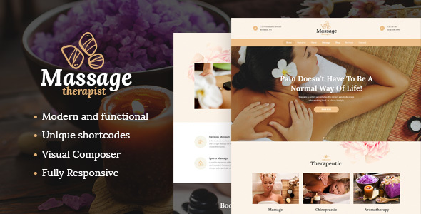 Massage Therapist and Spa Salon Theme - Health & Beauty Retail