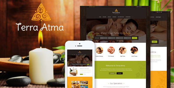 Terra Atma | Spa & Massage Salon WordPress Theme - Health & Beauty Retail