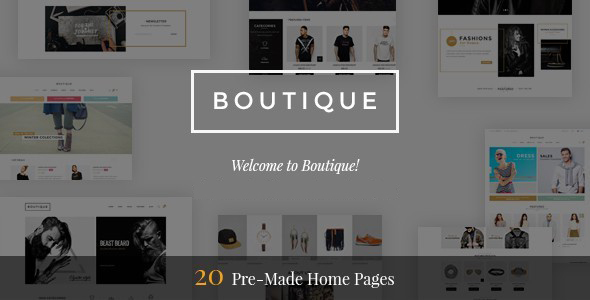 Boutique - Multipurpose Magento 2 & 1 Fashion Theme - Fashion Magento