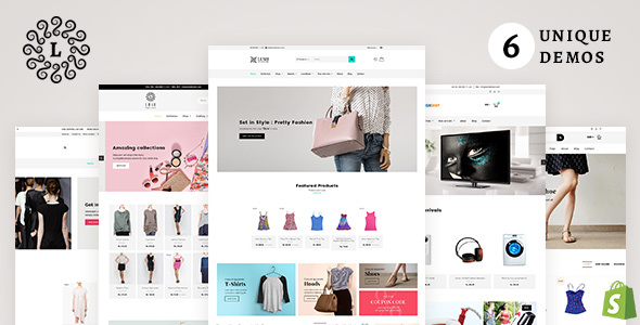 LUSH Shopify - Multipurpose Shopify Theme - Shopify eCommerce