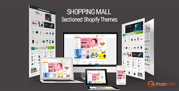 MAXMIN - Dropshipping AliExpress Clone Shopify Theme - Super Fast, Sections Frontpage Builder - Shopping Shopify