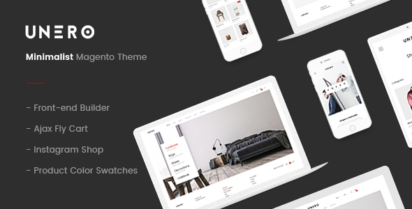 Unero – Minimalist Magento 2 and 1 Theme - Magento eCommerce